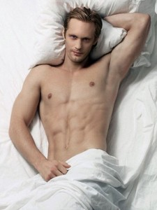 Eric Northman in bed