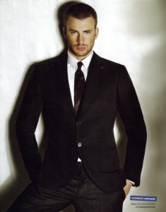 Chris Evans Suit